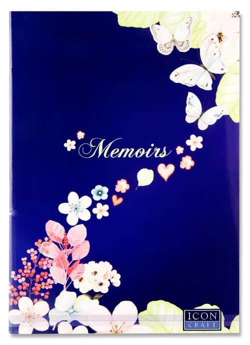 Icon Craft Memoirs A4 60Pg Scrapbook