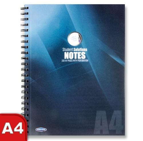Student Solutions A4 200Pg Pp Wiro Notebook