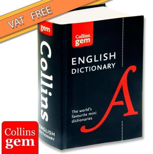 Collins Gem Dictionary - English
