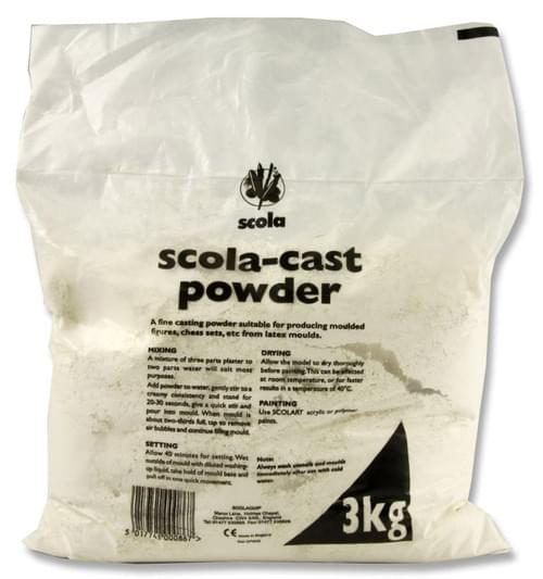 Scola 3Kg Bag Of Casting Powder