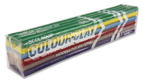 Scola 500G Modelling Clay - Rainbow
