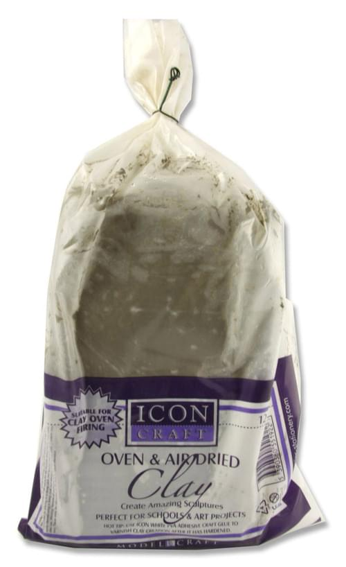 Icon Craft Oven & Air Hardening Clay - 12.5Kg