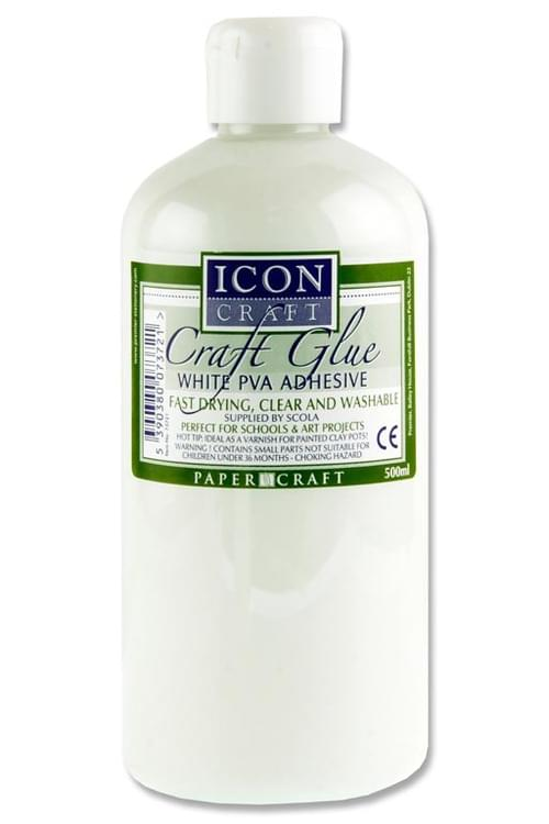 Icon Craft Pva Craft Glue - 500Ml