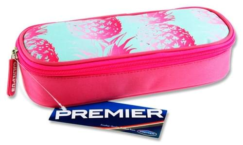 Premier Oval Pencil Case - Pineapple