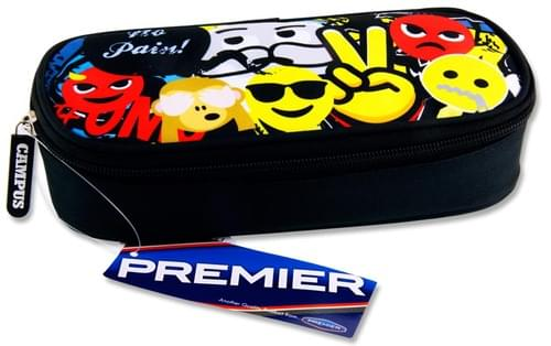 Premier Oval Pencil Case - Emojii'S No Pain  !