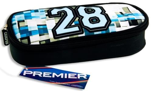 Premier Oval Pencil Case - Varsity 28