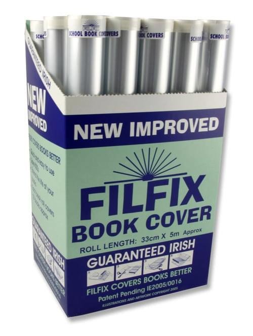 Filfix Roll Book Cover - 5M X 33Cm