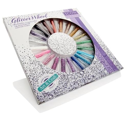 Icon Craft 20X8G Tubes Glitter Wheel