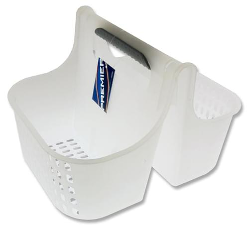 Premier Universal 270X213X185Mm Storage Carry Basket - White