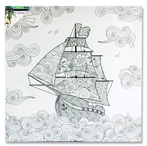Icon 500X500Mm Colour My Canvas - Ship