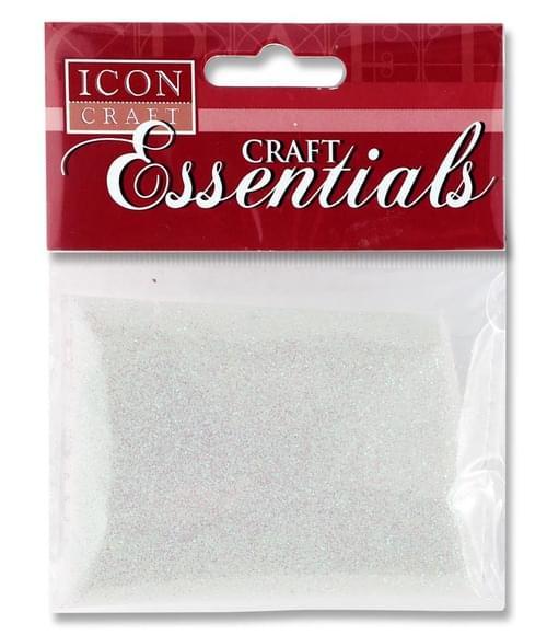 Icon Craft 25G Glitter Pack - Iridescent White