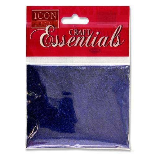 Icon Craft 25G Glitter Pack - Blue
