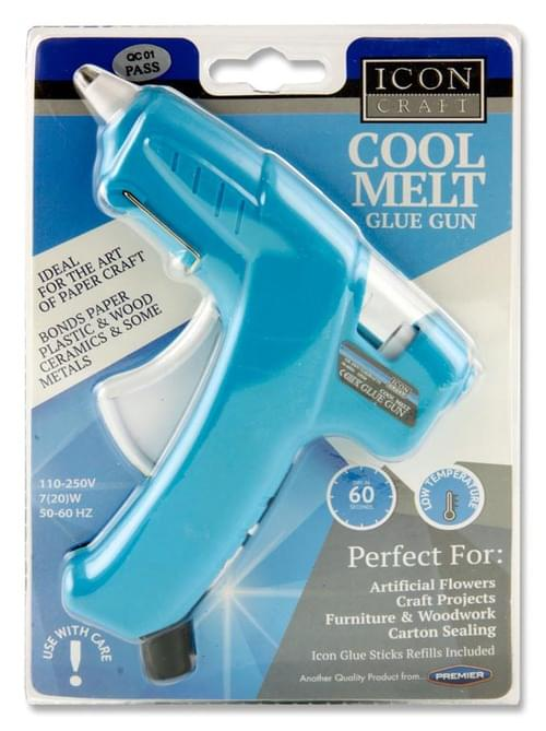 Icon Craft Cool Melt Glue Gun - Blue