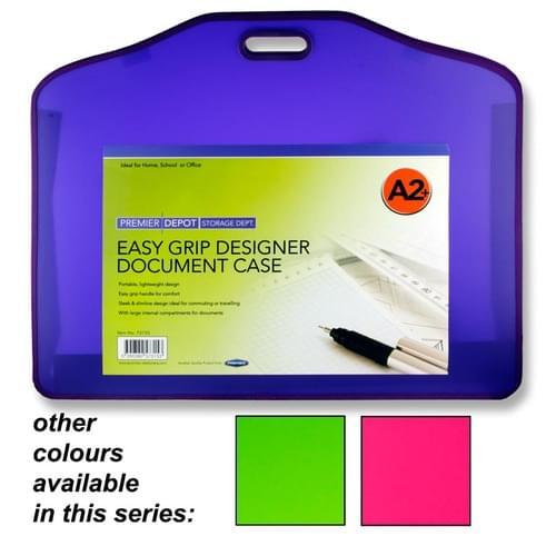 Premier Depot A2+ Pp Designer Document Case Tang 3 Asst.