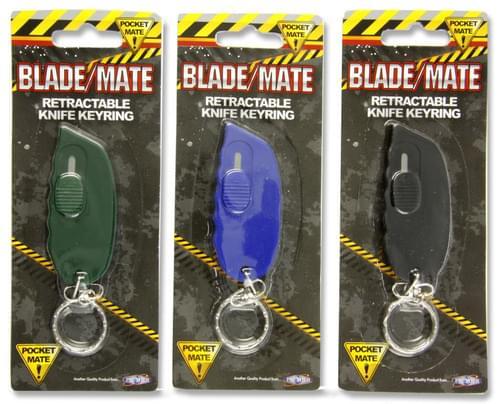 Mini Knife W/Key Chain 3 Asst.