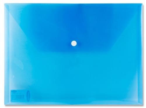 Premier A4 Button Wallet Envelope Clear 4 Asst.