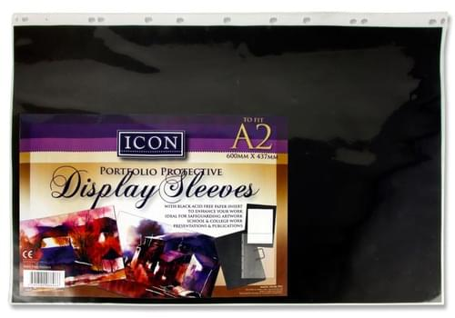Icon Pocket Display Sleeve For Art Case - A2