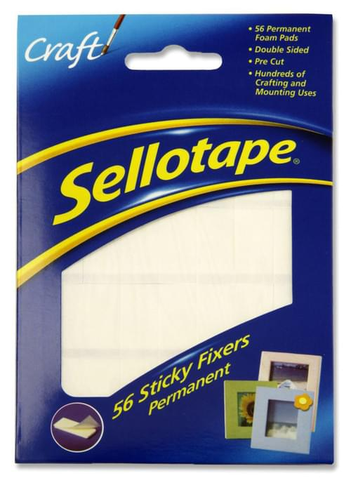 Sellotape Pack of 56 Sticky Fixers