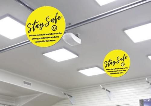Hanging Signs - Own Manufacturer - HNG1 - McArdle Computer & Office Supplies