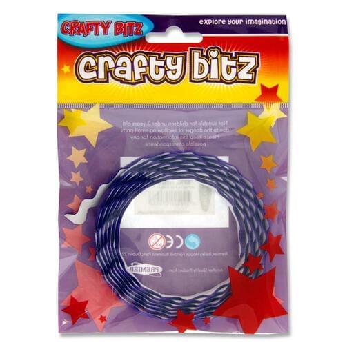 Crafty Bitz Adhesive Felt Ribbon - Purple