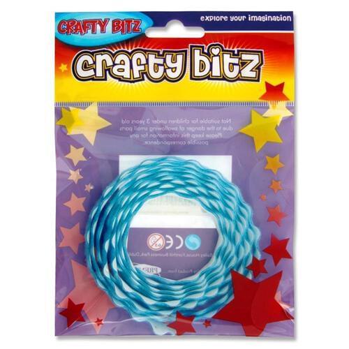 Crafty Bitz Adhesive Felt Ribbon - Blue