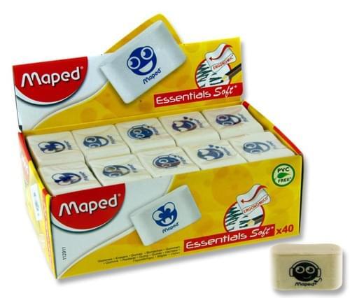 Maped Essentials Soft Emoji Eraser Asst.