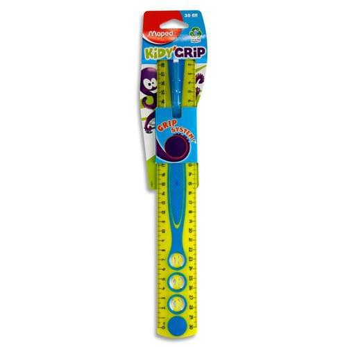 Maped 30Cm Kidy'Grip Ruler 3 Asst.