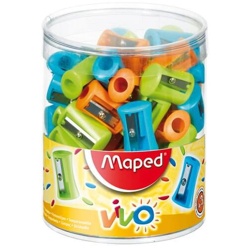 Maped Vivo Pencil Sharpener  3 Asst.