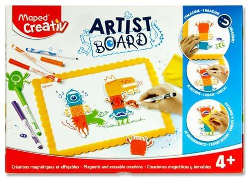 Maped Creativ Artist Board - Magnetic & Erasable Creations