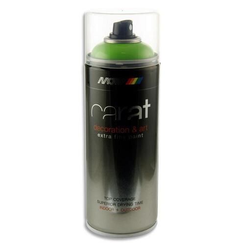 Carat 400Ml Can Art Spray Paint - Lime
