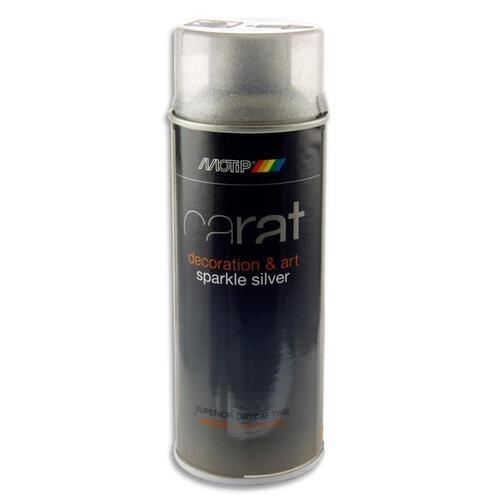 Carat 400Ml Can Art Spray Paint - Silver