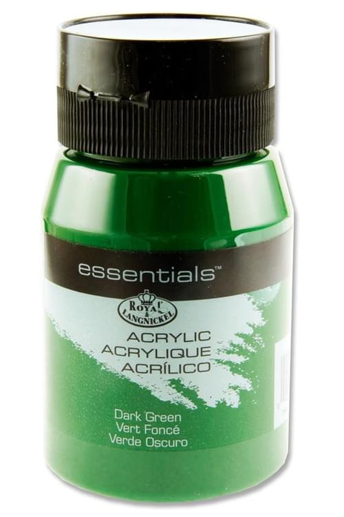 Essentials 500Ml Acrylic Pot - Dark Green