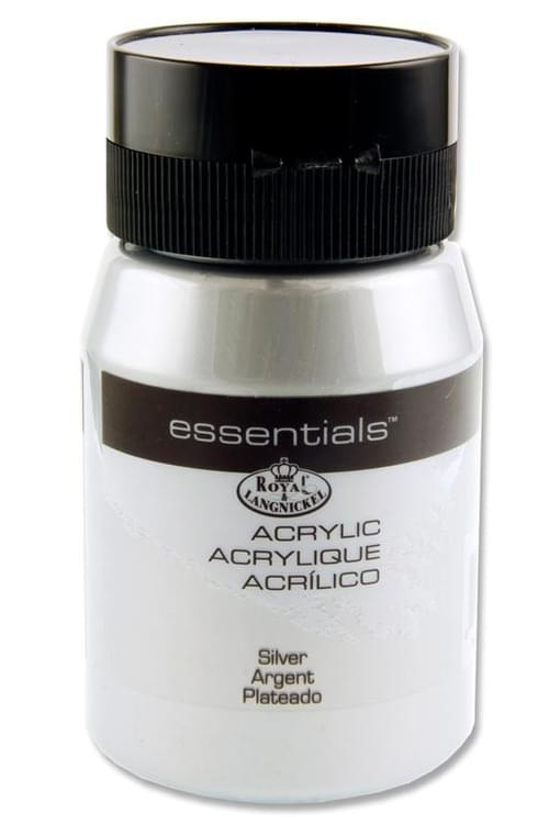 Essentials 500Ml Acrylic Pot - Silver