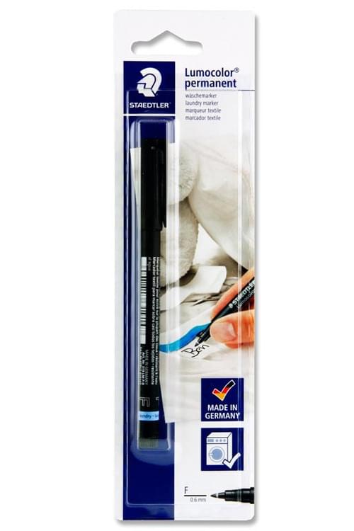 Staedtler Lumocolor 0.6Mm Permanent Laundry Marker - Fine