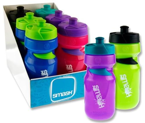 Smash 550Ml Sports Bottle 4 Asst.