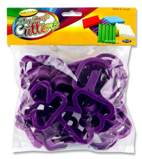 Woc Pack of 26 6Cm Play Dough Cutters - Alphabet