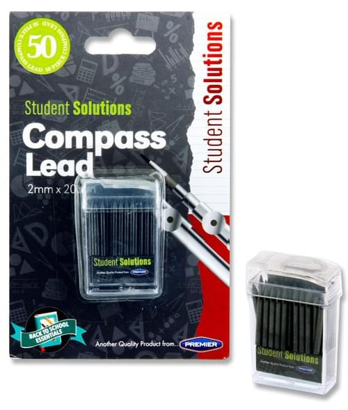 Student Solutions 50 Compass Black Lead