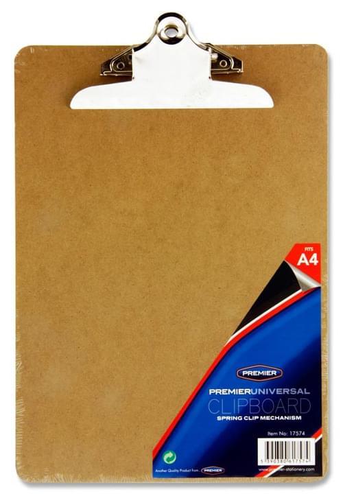 Premier Universal A4 Clip Board