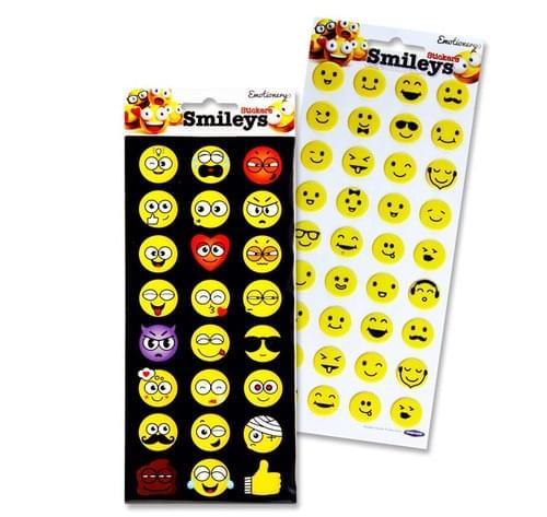 Emotionery Smileys Sticker 2 Asst.