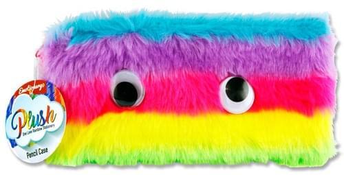 Emotionery Plush Pencil Case - One Love Rainbow