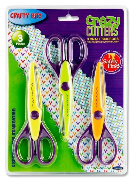 Crafty Bitz Card 3 Crazy Cutters Craft Scissors