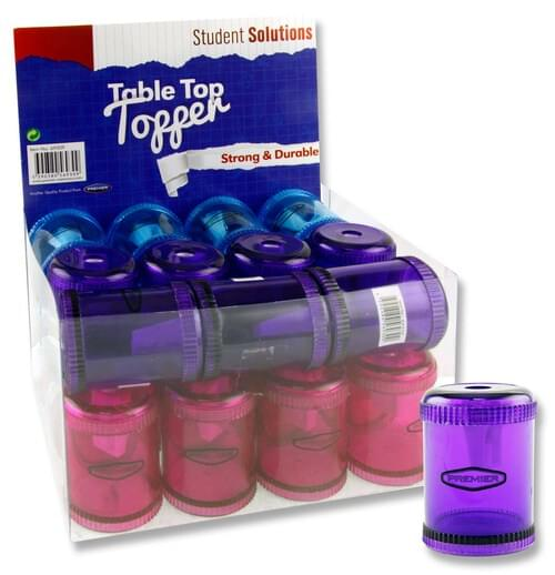 Student Solutions Single Hole Table Top Sharpener 3 Asst.