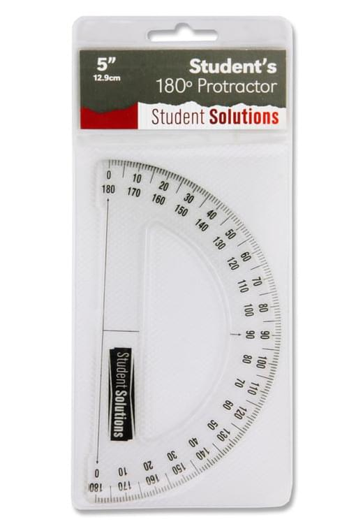 Student Solutions 12.9Cm 180Protractor