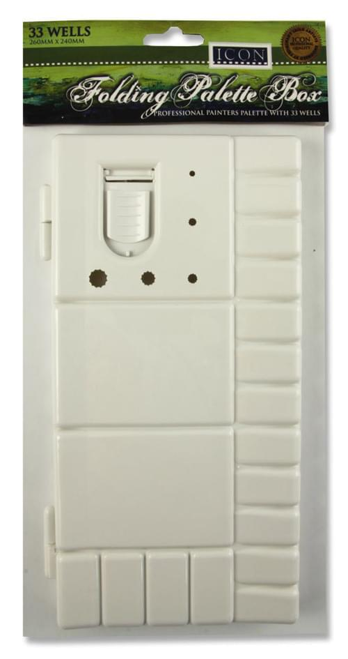 Icon Folding Palette Box - 33 Wells