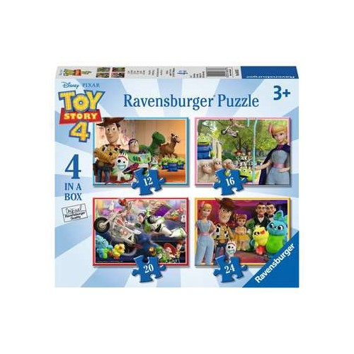 Ravensburger Toy Story 4, 4 in a Box