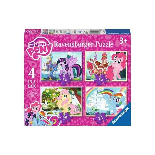 Ravensburger My Little Pony 4 in Box