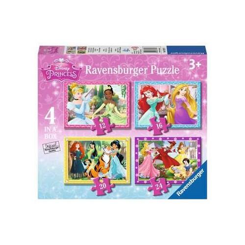 Ravensburger Disney Princess 4 in a box