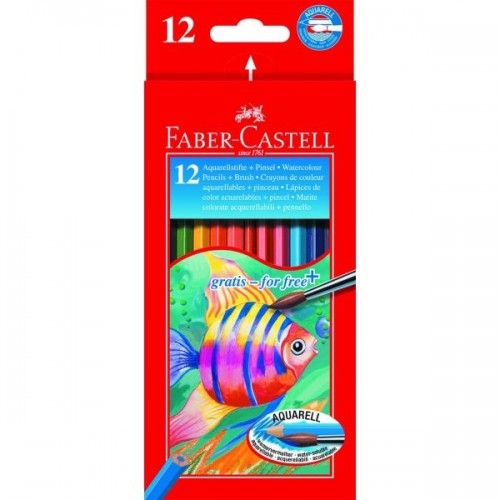 Faber Castell Water Soluble Box 12