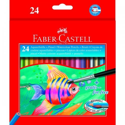 Faber Castell Water Soluble Box 24