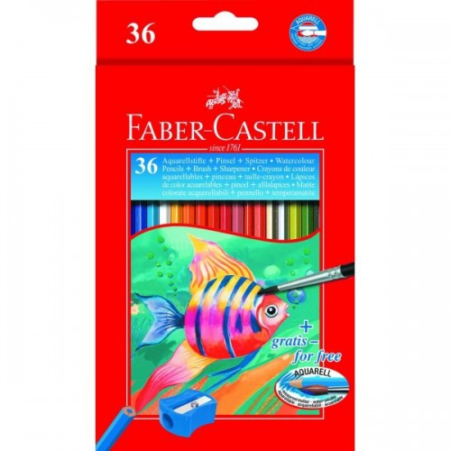 Faber Castell Water Soluble Box 36